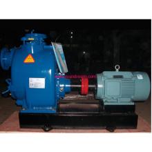 Pompe d'eaux usées à amorçage électrique