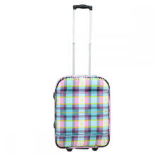 3 Pieces Cabin Printing EVA Luggage Trolley