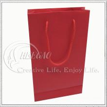 Bolsa de papel roja (KG-PB034)