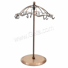 Umbrella Shape Display Antique Copper Multi Purpose Jewelry Display