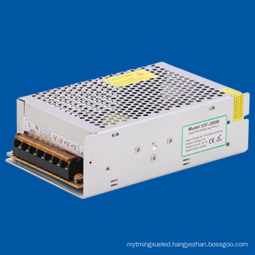 200W DC12V LED Power Supply DC Driver for LED Lamp with High Quality