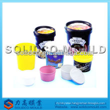 Plastic IML label mould