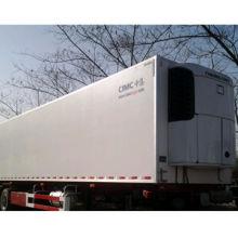 Semi-refrigerated trailer, 13T BPW axles, thermo kingi cooling machine