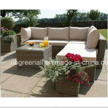 Outdoor Synthetisches Rattan Material Garten Set