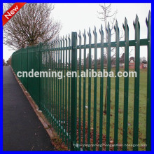 building decoration palisade fence, residential sites protective palisade fence for used