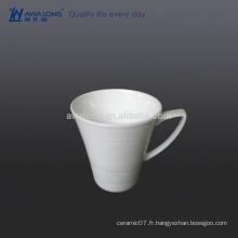 Coupe en céramique au lait de 300 ml, coupe quotidienne de lait d'appoint pour le petit-déjeuner