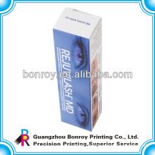glass bottle cosmetic packaging art paper box