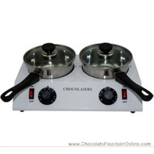 Electric Double Chocolate Melting Pot