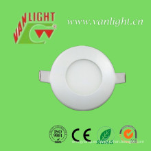 3W Cool White LED Round Panel Lamp