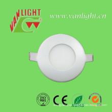 3W Cool White LED Round Panel Lamp