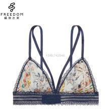 Sexy and comfortable lace strappy xxx sexy bra images of womens hot sex soft bra bralette