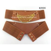 Elástico cintura stretch metal cinto