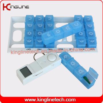 Jede Farbe Zeit Alarm Pille Box (KL-9217)