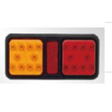 Хорошее качество! LED индикатор прямоугольного хвоста для грузовика, прицепа