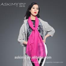 2015 Forme o lenço mongol das mulheres da caxemira