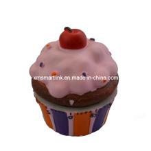 Polyresin Theme Cupcake Baking Timer Gifts, 60min Kitchen Timer