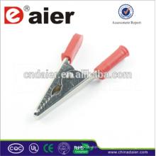 Einstellbare Krokodilklemmen / 9 Volt Batterieclips / Aligater Clips