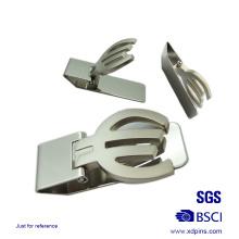 Clip del metal del metal del alto polaco de la aleación del cinc para el regalo (xd-08254)