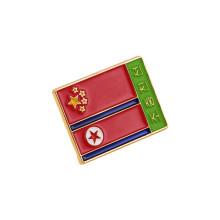 Pin de la bandera nacional, insignia suave del esmalte (GZHY-LP-050)