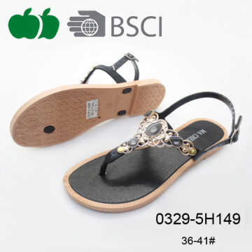 Best Selling Fashion Fancy High Quality Flat Women Sandals