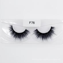 Hot Sell Silk Synthetic Eyelash Faux Mink Fur Eyelashes