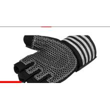 Wholesale bodybuilding fitness weightlifting gym gloves black