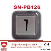 Plastic Elevator Druckknopf für Otis (SN-PB126)