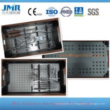 Ortopedia mini conjunto de instrumentos de placa, equipo de dedo, instrumentos de cirugía de dedo, conjunto de instrumentos metacarpianos