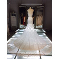 1A205 Sexy Sheath Wipe A Bosom Sequin Trailing Wedding Dress Bridal Dress