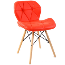 Оптовые модные буковые ножки кожаные сиденья