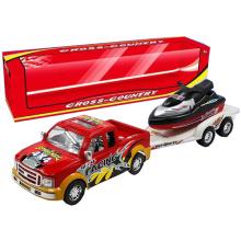 Novo caminhão de reboque de brinquedo de fricção para venda