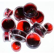 Benutzerdefinierte Design Halloween Red Liquid Gefälschte Blut Ohrstöpsel Schmuck