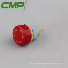 16mm 2 x NC Waterproof Emergency Stop Switch