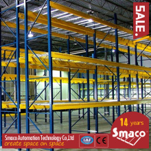 Structural Pallet Racking For Storage Solutions , Metal Storage Racks Heavy Duty Firm Durable
