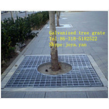 Galvanized tree grate