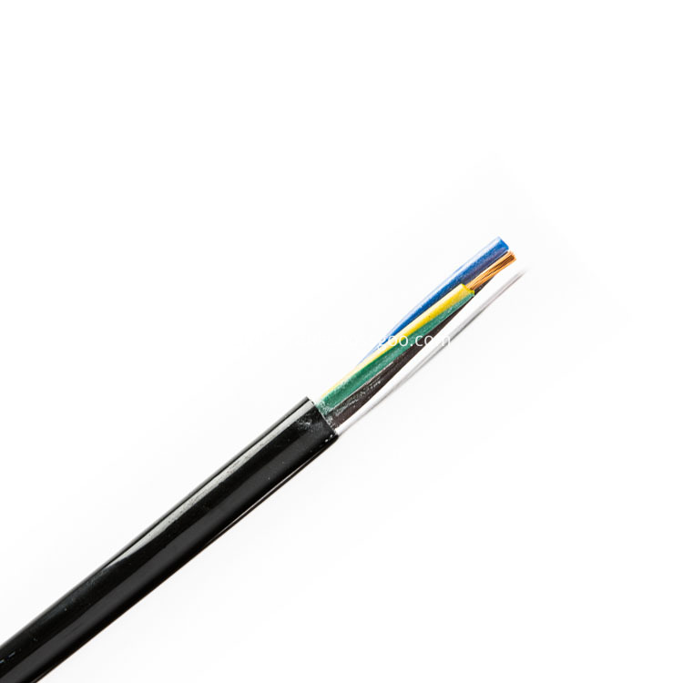 Oil Resistance 24AWG KEVLAR Filling TPU Cable