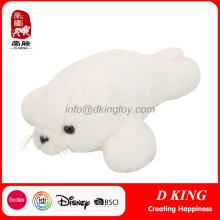 White Custom Stuffed Animal Seal Plush Toys