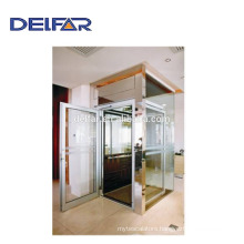 Best price villa lift with beautiful decoration and for home use