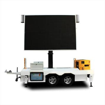 Waterproof P6 Outdoor Mobile LED Display for Trailer