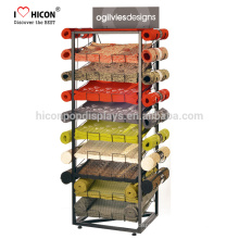 Fabric Carpet Shop Rug Display Rack Including Material Specification To Custom Graphic Printing