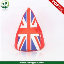Британский флаг Cool Union Jack beanbag game chair, красочный английский флаг фасоль мешок диван бобов мешки