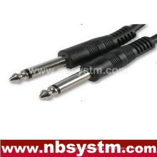 6.35mm mono conector a 6.35mm mono cable de enchufe 15m