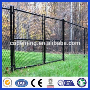 PVC Coated Green Color Ral6005 Double/Single Door Iron Wire Mesh Gate