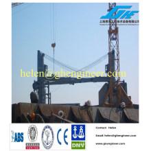Ship crane/deck crane /luffing jib crane