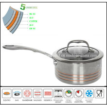5 Layer Saucepan Stainless Steel Saucepan