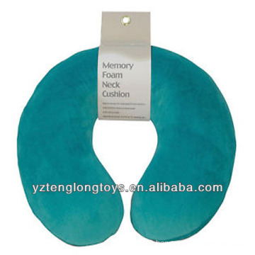promotional u-shape memory foam pillow travel neck pillow