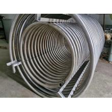 Water Cooled Condenser Coil Tubes Air Conditioning Titanium