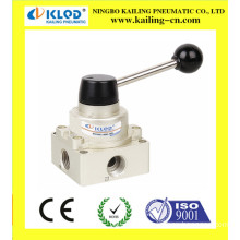 pneumatic hand switching valve