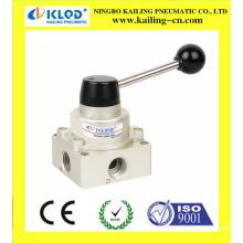 Válvula pneumática de comutação manual