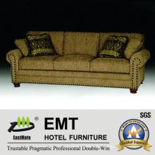 Fabric Hotel Sofa Set Sofa d'hôtel de haute qualité à vendre (EMT-SF39)